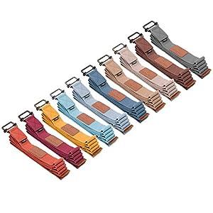 #DoYourYoga Yogagurt »Yaro« Stabiler Metallverschluss Länge 1,9m / 2,5m / 3m – in zwölf Trendfarben! Ideale Yogazubehör für Dehnübungen & komplizierte Asanas