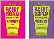 NCERT Exemplar Problems-Solutions for Science / Mathematics  class 10 (Set of 2 books)
