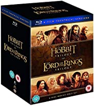 The Hobbit & The Lord of the Rings Trilogy - 6 Movies Collection: Fellowship of the Ring + The Two Towers