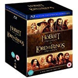 The Hobbit & The Lord of the Rings Trilogy - 6 Movies Collection: Fellowship of the Ring + The Two Towers + Return of the King + An Unexpected Journey + The Desolation of Smaug + Battle of the Five Armies