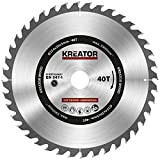 KRT020427 HSS Kreissägeblatt Ø 254 x 30 x 3 mm 40 Zähne Holzsägeblatt + 3 Reduzierringe