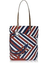 Kanvas Katha Women's Tote Bag (White) (KKST005W)