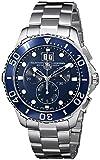 TAG Heuer Aquaracer Grande Date - Reloj (Reloj de pulsera, Masculino, Acero, Acero inoxidable, Acero, Acero inoxidable)