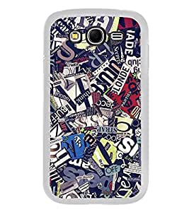 Fuson Designer Back Case Cover for Samsung Galaxy Grand Neo Plus I9060I :: Samsung Galaxy Grand Neo+ (News Papers Cut Cut PApers Mingled Nice)