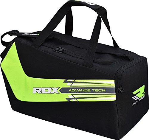 RDX Gym Sporttasche Tasche Sport Schultertaschen Rucksack Fitnesstasche Backpack Duffle bag Reisetasche Fußballtasche (Fitnessraum Mit Schuhfach)