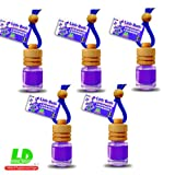 5 Stück elegante Duftflakons fürs Auto - Lavendel 25ml - 39,60EUR/100ml