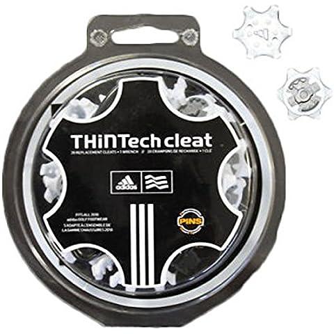 Adidas Golf Thintech Tacchetti Spikes Bianco x 20 + Wrench
