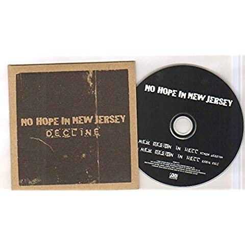 NO HOPE IN NEW JERSEY - DECLINE - CD (not vinyl) - Atlantic Jersey