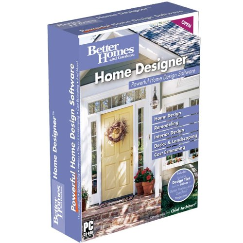 Better Homes and Gardens Home Designer - Gardens-software Better Homes And