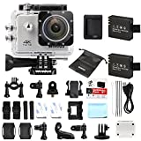 Camera Sport, WiMiUS Q1 Action Cam 4k Full HD 16MP WIFI Etanche...