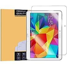 """Samsung Galaxy Tab 4 10.1 Protector de Pantalla,Protector Pantalla de Cristal Templado para Samsung Galaxy Tab 4 10.1""""(Transparente,Dureza de Grado 9H)"""