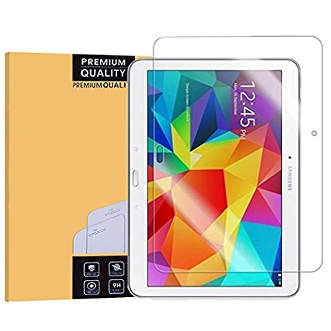 Samsung Galaxy Tab 4 10.1 inch verre trempé,EasyULT Samsung Galaxy Tab 4 10.1 inch Verre Trempé Protecteur d'écran Protection Résistant aux éraflures Glass Screen Protector Vitre Tempered(HD Ultra transparent)