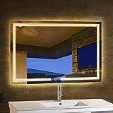 Specchio trucco illuminato specchi da parete specchi casa e cucina - Specchi da parete amazon ...