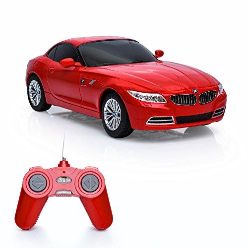 Spire Tech® ST-119 RC Coche BMW Z4 Mando a Distancia Radio Eléctrico Controlado Juguete, Rojo, Escala 1:24