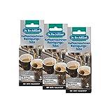 3x Dr. Beckmann Kaffeemaschinen Reinigungs-Tabs 6 Tabs - Entfernt Kaffeefett und -öl