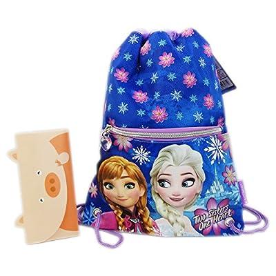 Disney Frozen Snow Mochila Bolso Escolar Bolsa cuerdas