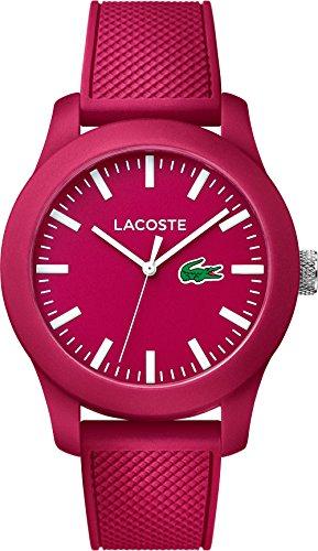Lacoste Herren-Armbanduhr ACOSTE POLOSHIRT IN A WATCH KOLLEKTION Analog Quarz Silikon 2010793