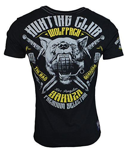 Yakuza Premium Herren T-Shirt YPS 2319 Schwarz