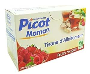 Picot maman Tisane Allaitement aux fruits rouges 20 sachets