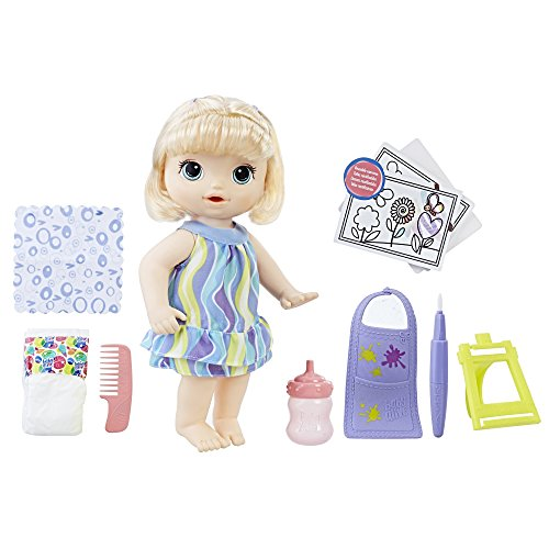 Hasbro Baby Alive Finger Paint Baby - Blonde
