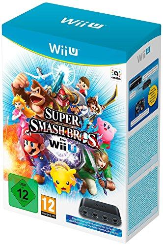 Super Smash Bros inkl. GameCube Controller Adapter (Super Mario Smash Bros Gamecube)