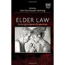 Elder Law: Evolving European Perspectives