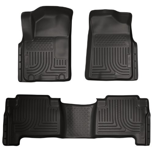 husky-liner-98611-weatherbeaters-black-custom-molded-front-and-second-seat-floor-liner-for-infiniti-