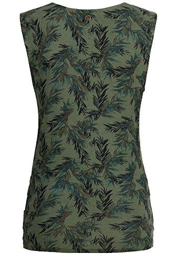 Khujo Esista Shirt Emerald Leaf ...