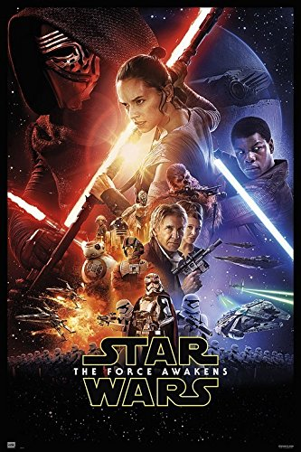 Grupo Erik Editores GPE4977–Poster Star Wars VII, 61x 91,5cm