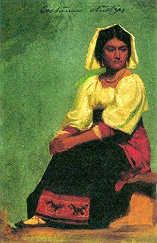 Das Museum Outlet-Kostüm Studie von einer sitzenden Frau by Bierstadt-A3Poster