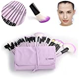 Vander 32 Stück Bürsten Kosmetik Professional Essential Make-up Pinsel Set Kits mit Beutel
