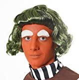 GREEN WIG IDEAL FOR UMPA LUMPA,OOMPA LOOMPA (peluca)