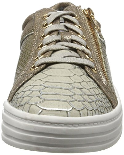 La Strada 902586, Sneakers basses femme Grau (Grey/Gold)