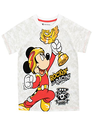 Disney Boys Mickey and The Roadster Racers T-Shirt Ages 12 Months to 8 Years