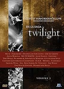 Clips et performances live des bandes originales de la saga Twilight - Volume I