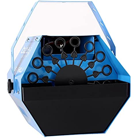 Ibiza Light LBM-10 Máquina de pompas de jabón para fiestas azul