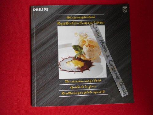 Rezeptebuch für Eisspezialitäten