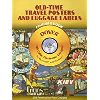 Old-time Travel Posters And Luggage Labels
