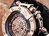 DETOMASO Herren-Armbanduhr Man Machineer Analog Automatik DT-ML102-C - 10