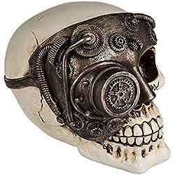 Hucha Cyborg Skull