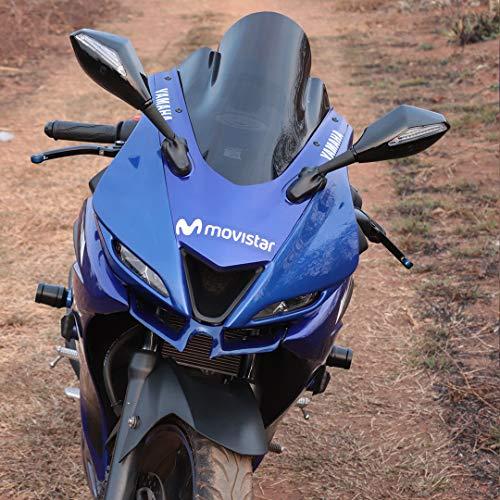 JB Racing Winglet for Yamaha R15 V3 (Blue)