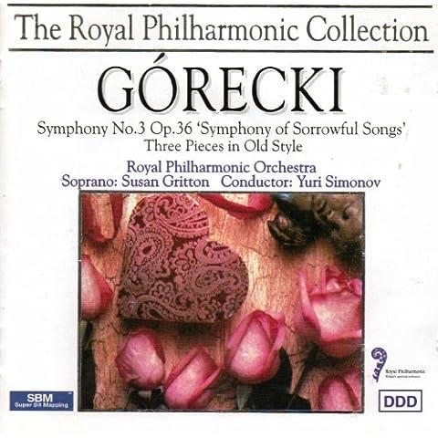 Gorecki: Symphony No. 3,