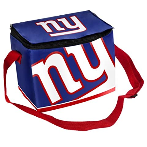 New York Giants NFL Big Logo Insulated Lunch Cooler Bag