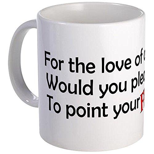CafePress–Point Your Füße–Einzigartige Kaffee Tasse, Kaffeetasse, Teetasse, 325ml,...