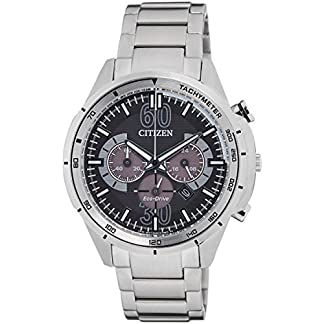 Citizen Eco-Drive Analog Black Dial Men's Watch-CA4120-50E