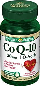 Nature's Bounty Co Q-10 50 mg Q Sorb - 75 Softgels