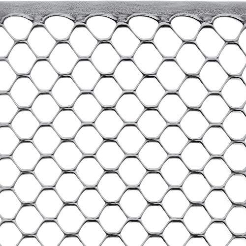Rete Protettiva in Plastica per Balconi, Recinzioni e Cancellate, Tenax Exagon, 1,00 x 5 m, Argento