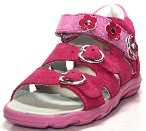 Richter Kinderschuhe , Sandales pour fille - Pink (fuchsia 3501)