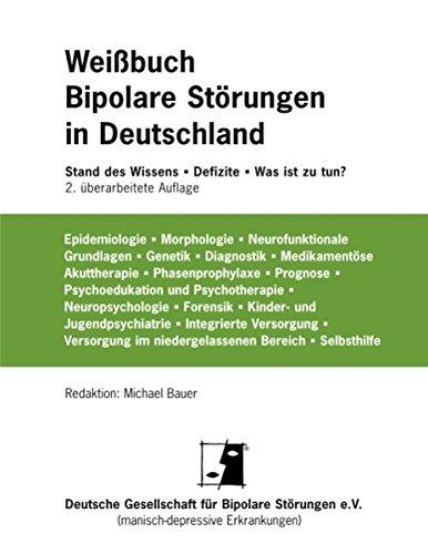 Cover »Weißbuch Bipolare Störungen in Deutschland«