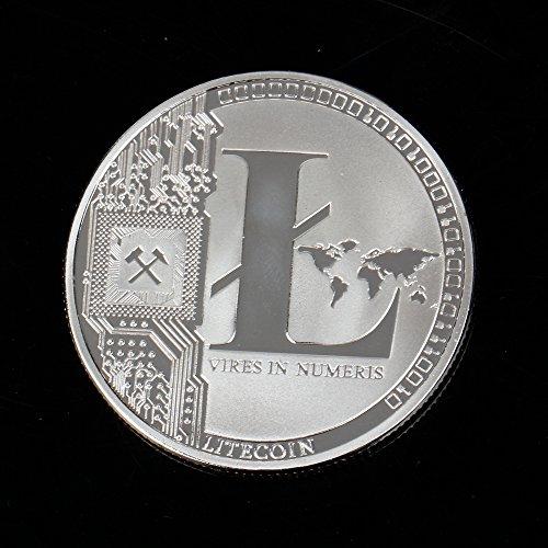 TS Trade Litecoin Coin Gedenkmünzen Gold Silber Plated Collection Physisches Geschenk - 4
